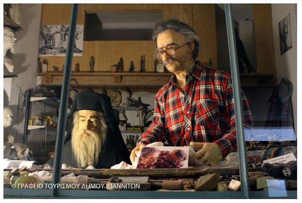 Museum of Greek History – Wax Effigies – Pavlos Vrellis