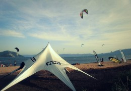 "Kiteboarding on Neretva Delta ""Kiteboarding Komin"""