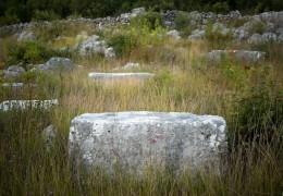 Medieval tombstones – Grebine (Crnoča)