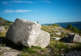 Medieval tombstones – Greblje (Proviå)