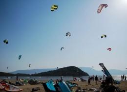 """Kiteboarding on Neretva Delta """"Neretva kiteboarding"""""""