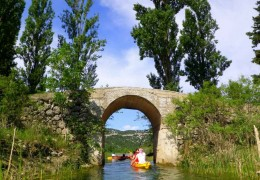 Explore Dalmatia river kayaking