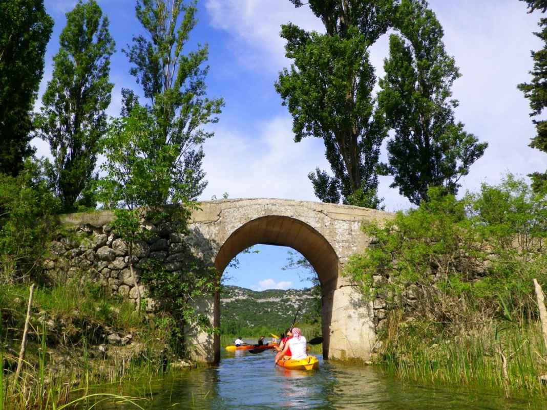 Explore Dalmatia river kayaking